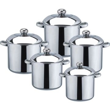 High quality 10pcs stock pot	2020