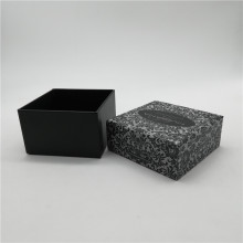 Black&White Two Pieces Gift Box With Cap Lid