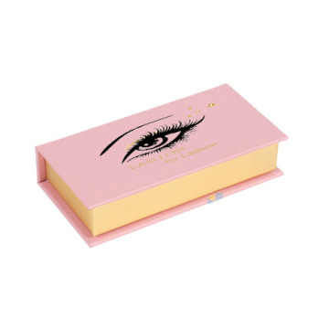 Custom Pink Girly Eyelash Packaging Box