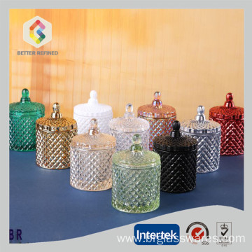 Best Quality for Glass Candy Jars Food Storage Glass Candy jar export to United States Manufacturer