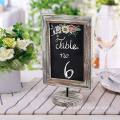 Factory Rustic 12 inch mini blackboard for desk
