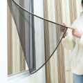 Roller screen DIY magnetic insect screen window
