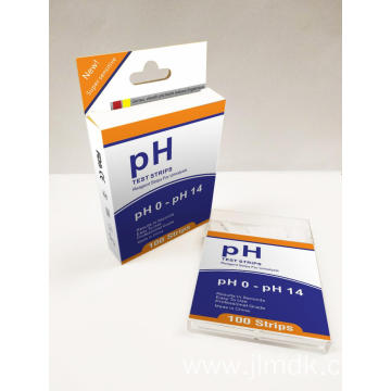 ph paper strips 4.5-9.0 with FDA CE ISO