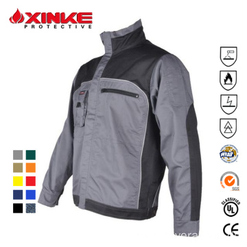 OEM wholesale advanced cotton nylon welding jacket