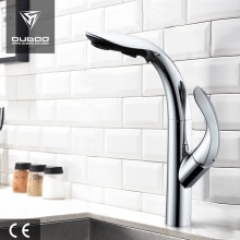 Unique Chrome Pull Out Kitchen Faucet Water Tap