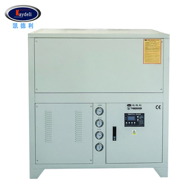 Industrial water cooled low temperature chiller