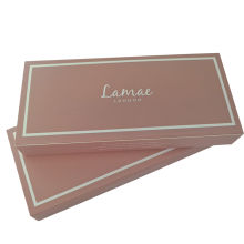 Wholesale Custom Printed Eyelash Case Paper Sleeve