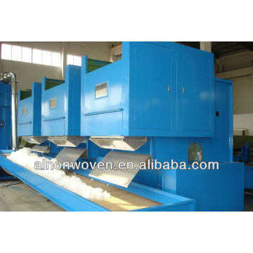 electrical weighing nonwoven bale opening machine
