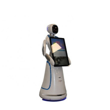 Interactive Talking Robots for Hotel