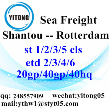 Shantou Shipping Services to Rotterdam