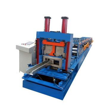 Structure cz purlin roll forming machine