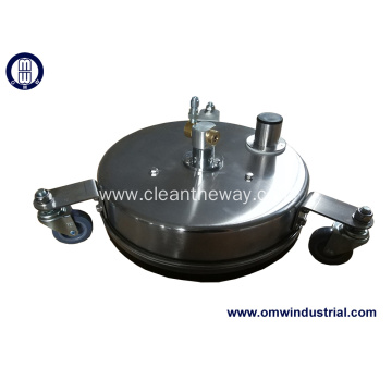 "12"" S.S. Surface Cleaner with Vacuum Port"