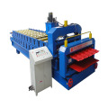 Bamboo Glazed Tile Double Deck Roll Forming Machine
