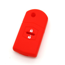 MAZDA 2 button fob silicone car key shell