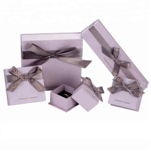 Luxury Empty Paper Jewelry Gift Box Bulk