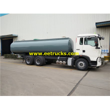 20000l HOWO HCl Transport Tank Trucks