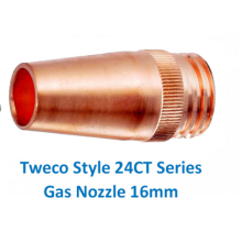 Manufacturer for Gas Cutting Nozzle Tweco 24CT62 Gas Nozzle export to Ethiopia Suppliers