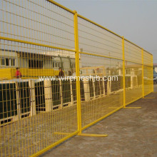 Temporary Powder Coated Wire Mesh Fence For Canada