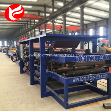 EPS rock wool composite board roll forming machine