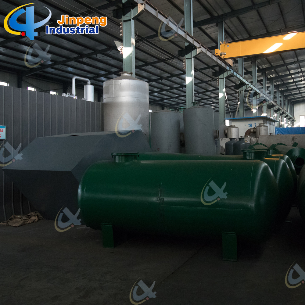 Engine Oil Recycling System