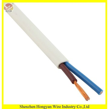 pvc flat electrical wire