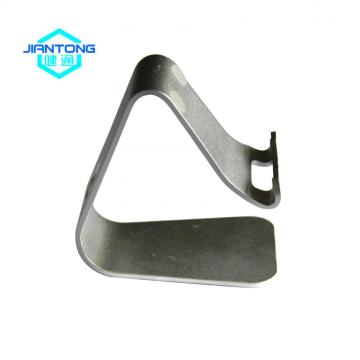 Flat fabricated aluminum metal bracket