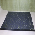 High density gym floor rubber tiles