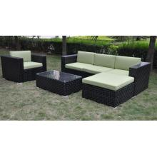 10 Years for Outdoor Sectional Sofa PE Rattan garden furniture aluminium sofa set supply to South Korea Factories