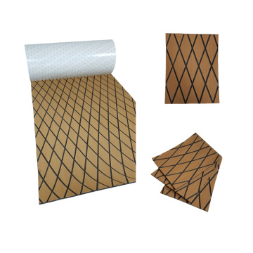 Light Brown & Black EVA Marine Diamond Sheet