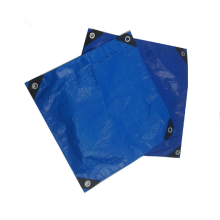 Professional Design for Blue PE Tarpaulin Sheet Blue color 100gsm 2x3m PE tarpaulin supply to India Exporter