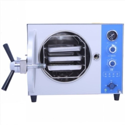Table-top Class N autoclave for microbiological laboratory