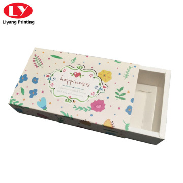 Folding Drawer Slide Paper Packaging Box for Scarf