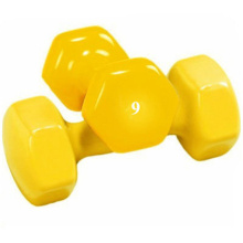 Bottom price for Vinyl Dumbbells 9 LB Vinyl Dumbbell supply to Israel Supplier