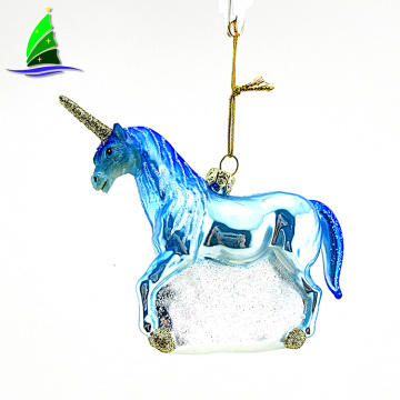 Wholesale Unicorn Shape Hangings Christmas Unicorn