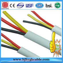 2 core plus earth Flat Cable for Building BS6004