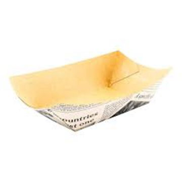 Food paper packaging box for french fries chips