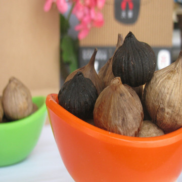 Different flavor of black garlic