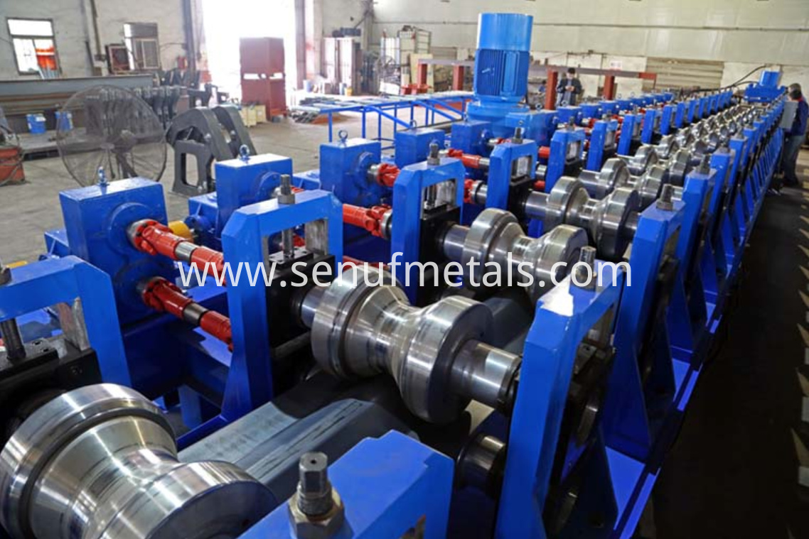 highway guardrail forming machine rollers