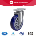 Medium 6 Inch 250Kg Plate Swivel TPU Caster