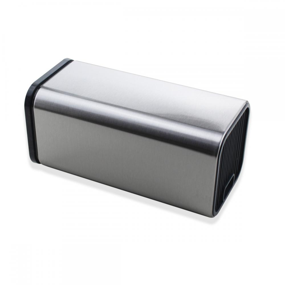 Universal Stainless Steel Kitchen Knife Holder Block