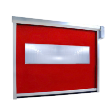 I-Automatic PVC Freezer ye-Zipper Shutter Door