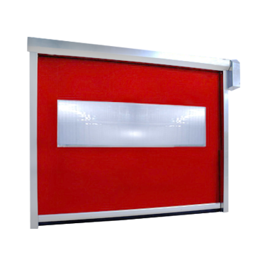 Industrial otomatis PVC freezer seleting Shutter Door