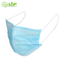 3 ply nonwoven protective face mask