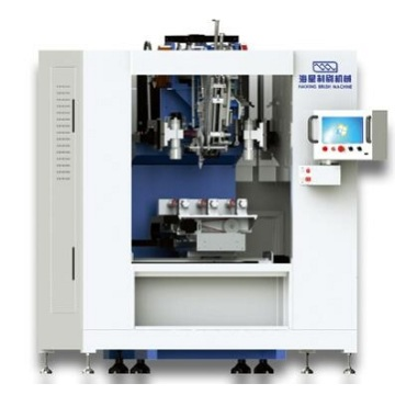 High Speed 3 Axis Disc Brush Machine