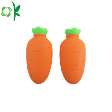 Fruits Shape Silicone Hot Water Bag for Travel