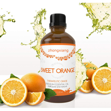 100% pure and natural sweet orange oil for Used for the preparation of beverage food toothpaste soap and medicine