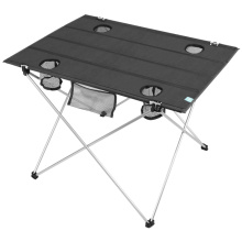 1680D Oxford outdoor folding table with Cup Holders