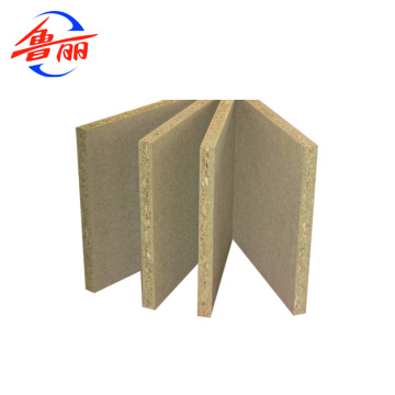 E0 glue 1220x2440mm particle board chip board