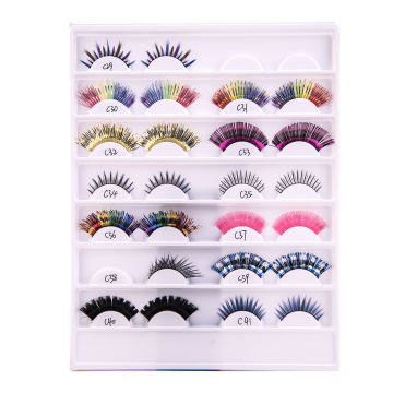Private Label False Eyelashes Cils Synthétiques