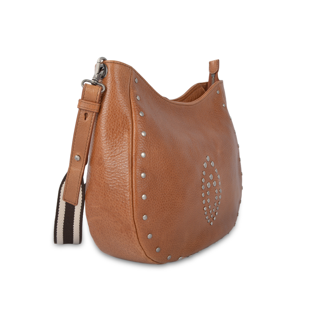 Leather Long Adjustable Strap Crossbody Bag for Women